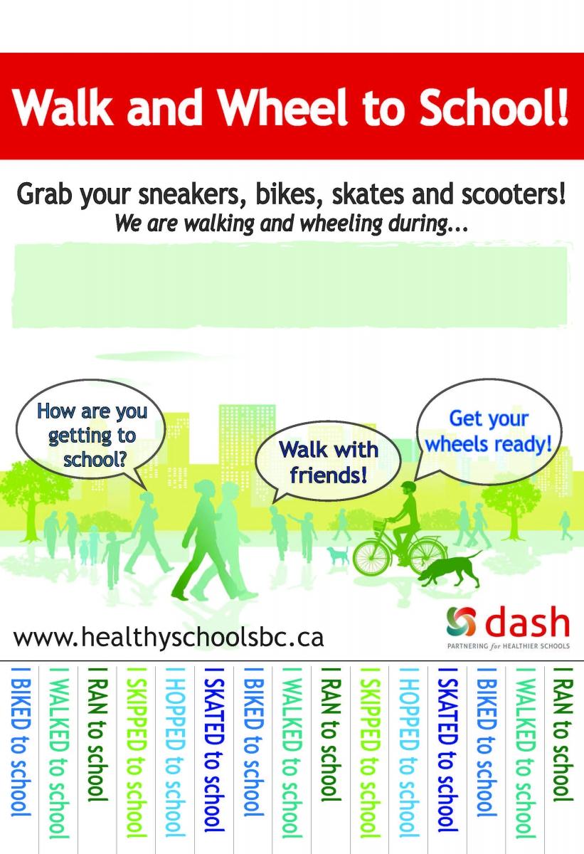 Walk and Wheel to School Brochure